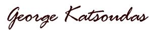 george katsoudas signature