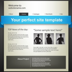 perfect site template
