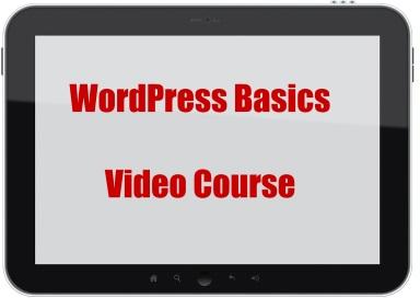 WordPress basics videos